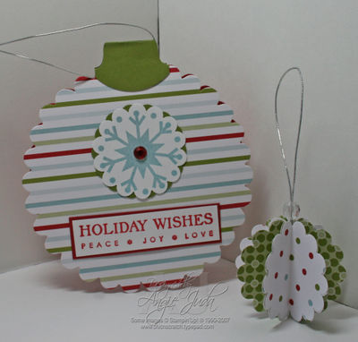 Ornament card Collection kit
