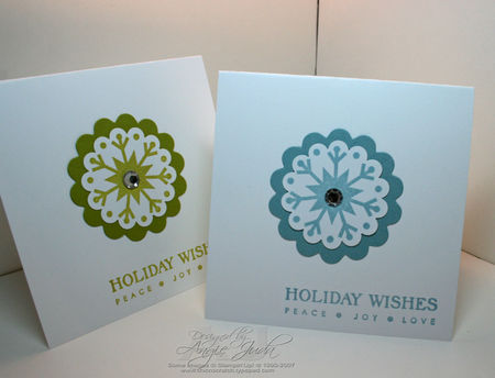 Holiday Wishes Snowflake