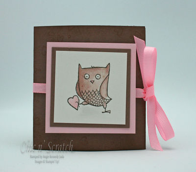 Owl Ghirardelli Holder
