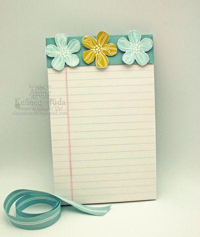 Hawaii notepad