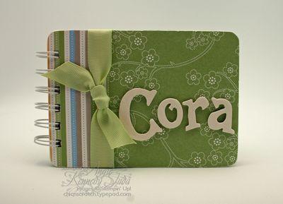 Cora's recipe book