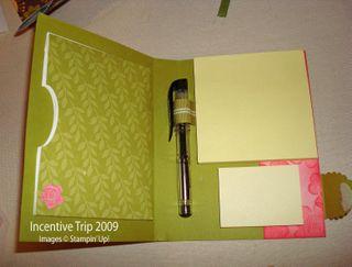 Bella Blossoms post it inside