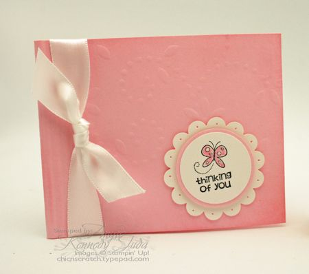 Thinking of you post it note holder