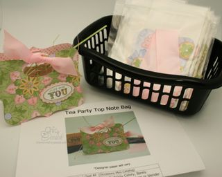 Tea Party Top Note Kit