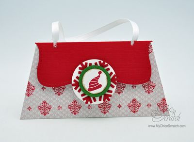 Red Gift Card Purse