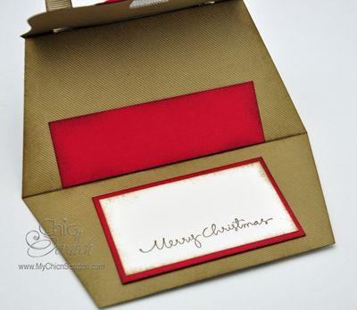 Gift Card purse open