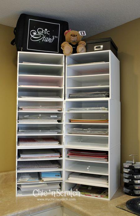 12 x 12 paper storage