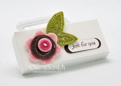 Scallop sweet pea box