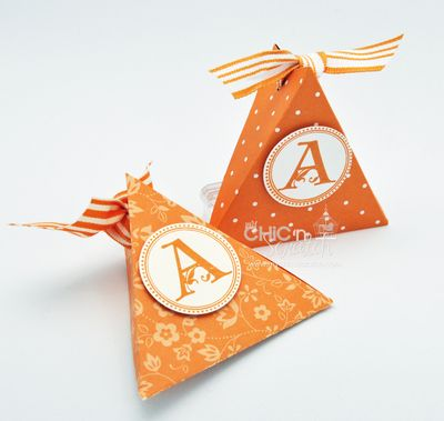 Pumpkin Triangle Box