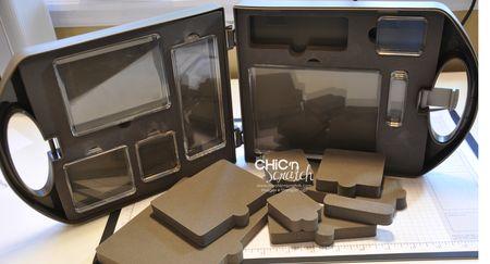 Clear Block Storage Caddy