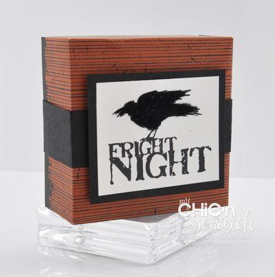 Raven square box