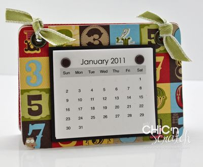 Play Date Coaster Calendar