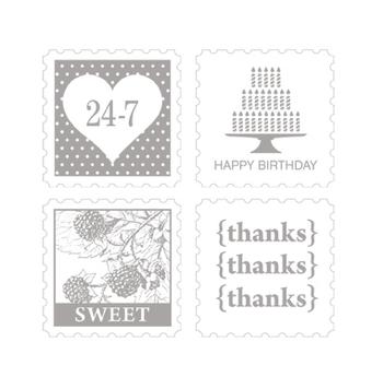 Pretty Postage stamp set