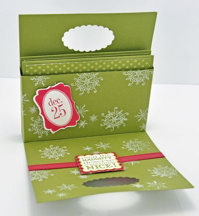 Christmas box of cards inside