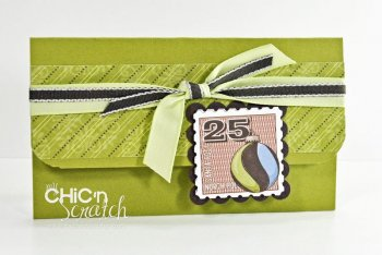 12 Days of Christmas #9 Gift Card Holder