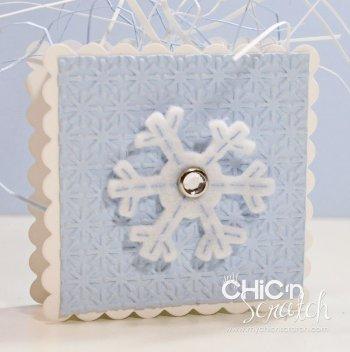 12 Days of Christmas #7 Snowflake Box