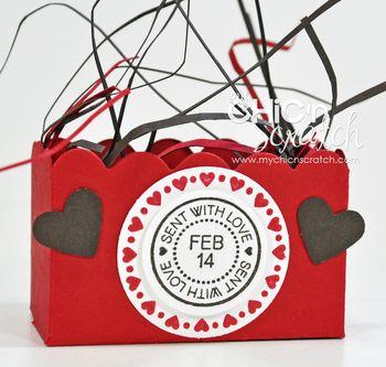 Scallop Valentine Box