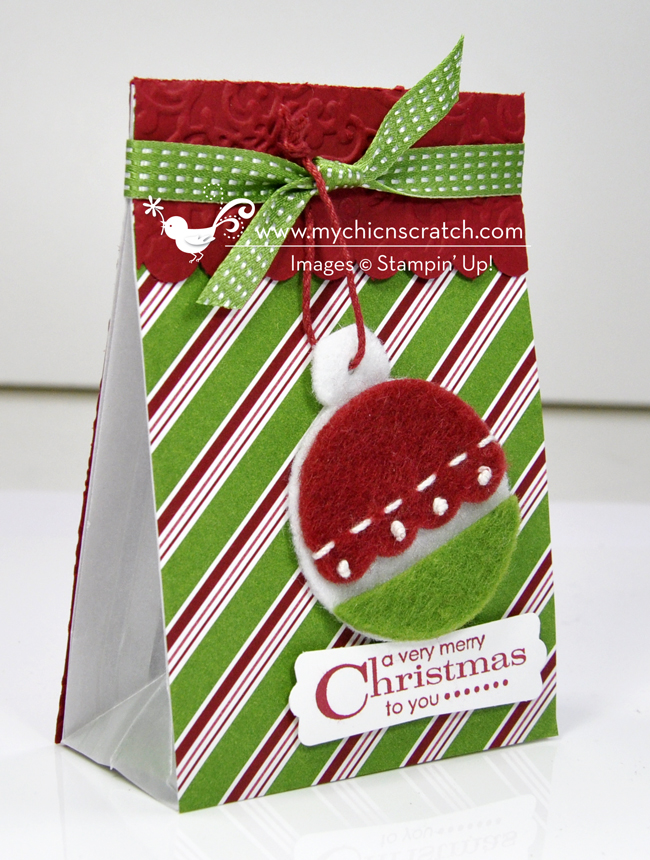 Stampin' Up! 12 Days of Christmas #3 2012