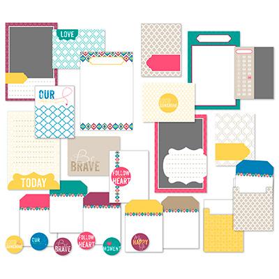 Be Brave Pocket Cards - Digital Download 134840 Price: $5.95