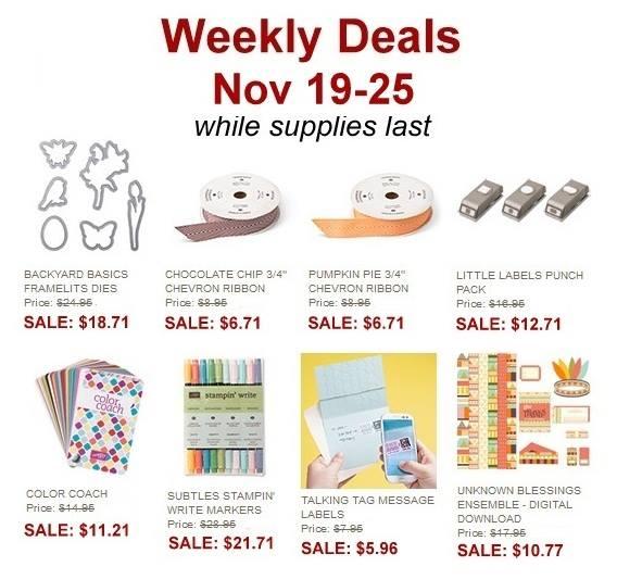 Weekly Deals Nov 19th