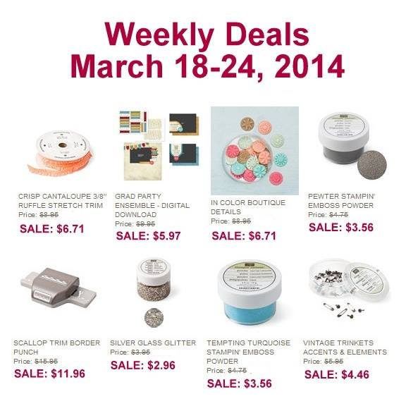 Weekly Deals March 18th