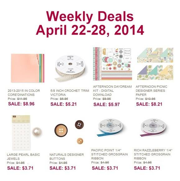 Weekly Deals April 22nd
