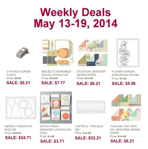 Weekly Deals May 13