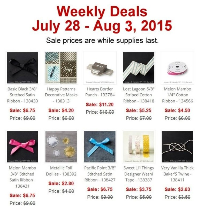 weekly deals july 28th