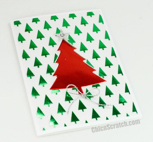 Christmas-Tree-Foil-Card
