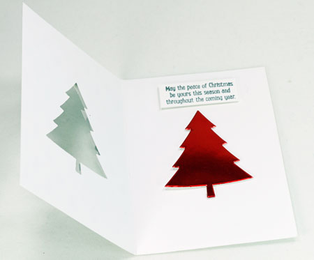 Christmas-tree-foil-card-open