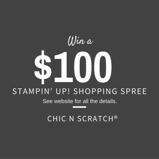 $100 Stampin Up