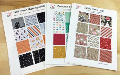Holiday Catalog Designer Series Paper Charts