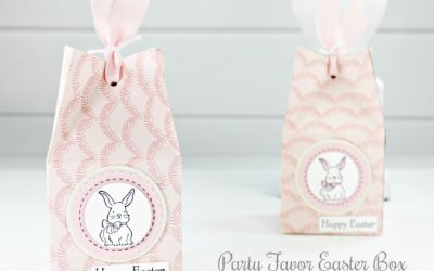 Party Favor Easter Box