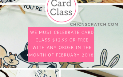 We Must Celebrate Card Class
