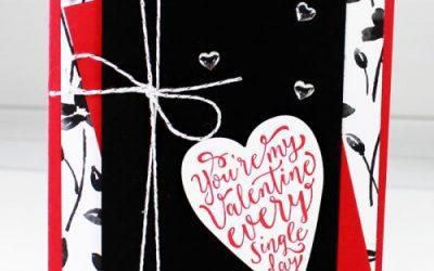 Petal Passion Valentines Card