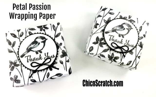 Petal Passion Wrapping Paper