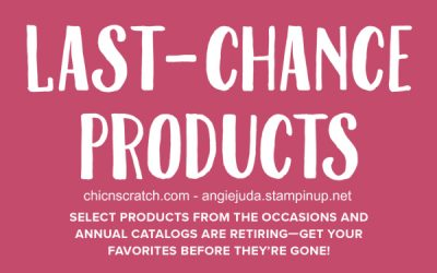 Last Chance – Discounted