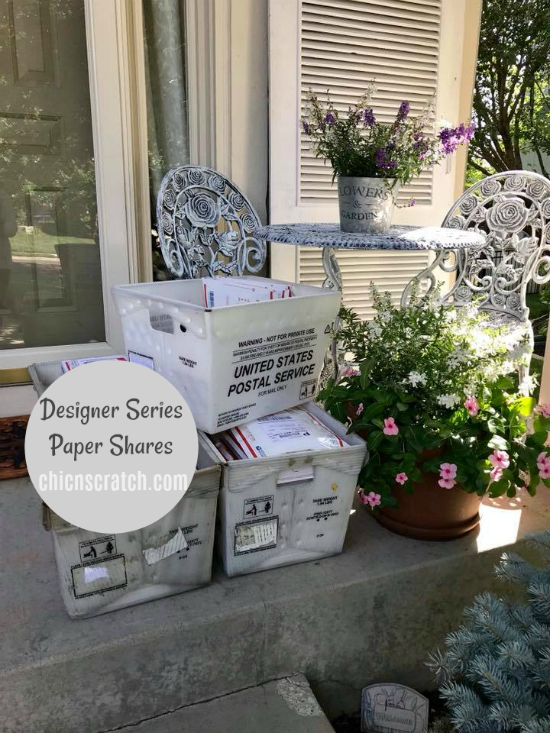 Designer Series Paper Shares have shipped