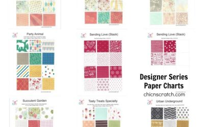 Occasions Catalog Designer Series Paper Charts