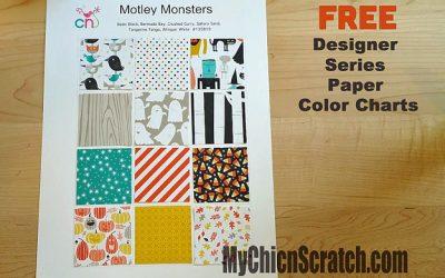 Designer Series Paper Color Charts