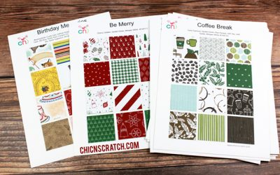 Stampin' Up! Designer Series Paper Charts