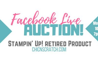 Live Auction Tonight on Facebook
