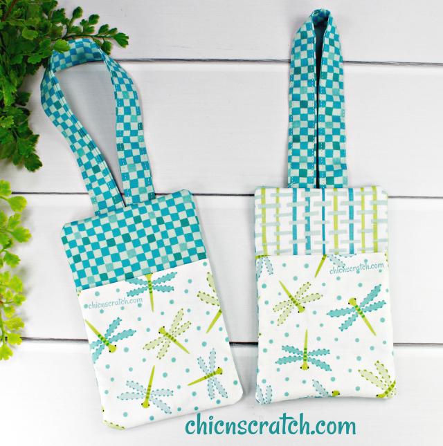 How to Make Fabric Bag Tags