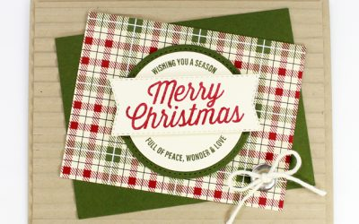 Farmhouse Christmas – Stamp Kit Card 3