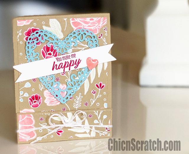 Meant to Be Matchbook Treat Holder