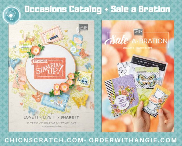 Occasions Catalog + Sale a Bration 2019
