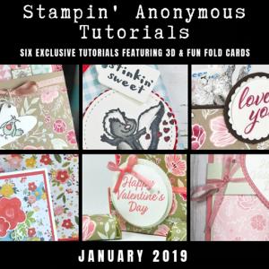 Stampin' Anonymous Tutorial January 2019