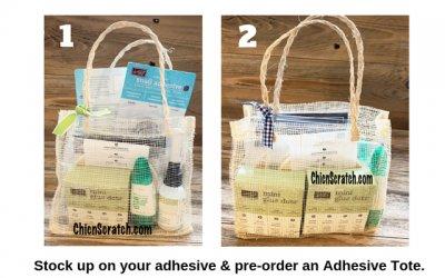 Adhesive Totes Reminder