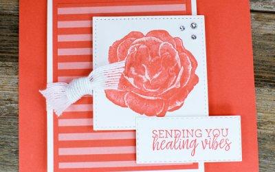Healing Hugs Fun Fold Card