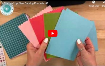 Stampin' Up! New Catalog Product Pre-Order #2